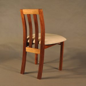Pod wideback chair upholstered Blackwood