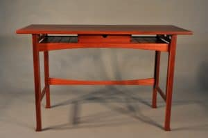 Pallinup writing table, jarrah