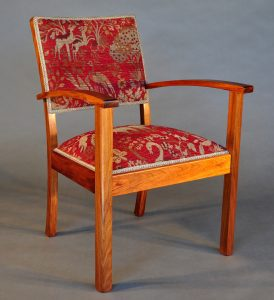 Retro Reading chair in Blackwood