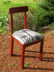 Donnelly chair in jarrah