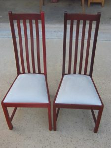 Helena chairs in Jarrah