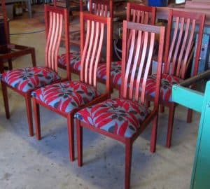 Chillinup chairs in Jarrah