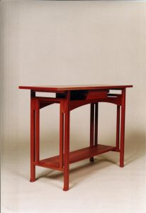 Pallinup hall table, jarrah