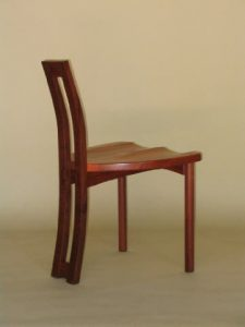 Solid Pod chair in Jarrah
