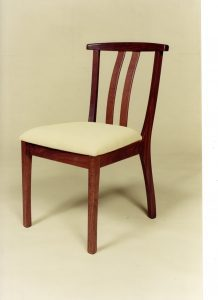 Yoke chair in Jarrah