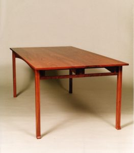 Pallinup dining table, jarrah