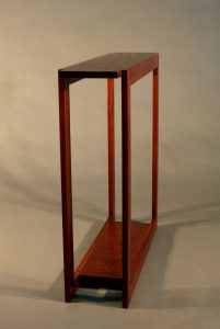 Malkup hall table Jarrah
